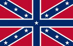 Confederate Union Jack by Alternateflags