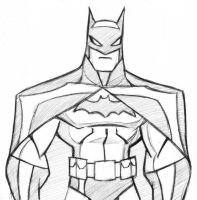 Batman Quick Sketch by icemaxx1