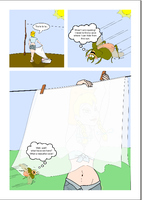 Mary Lou and the clothesline Page 2 by Rob-the-Hobbit