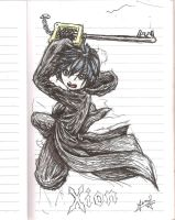 Xion: Keyblade Assault! by ZephyrXenonymous