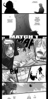 OC Battle 1 - Red vs. Hiroshi. by Endling