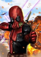 Deadpool by HeroforPain