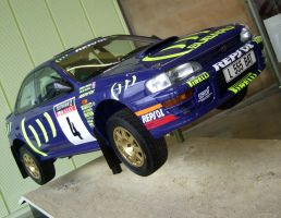 SUBARU STI RALLY CAR by Sceptre63
