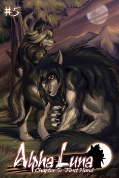 Alpha Luna Chapter 5: First Howl Cover by alfaluna