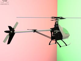 Helicopter B 'clean' - 3D by 4as