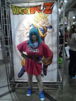Funimation Booth Dragonball Z Teen Bulma by SailorUsagiChan