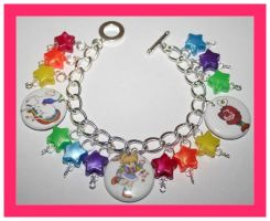 Rainbow Brite Bracelet by False-desire