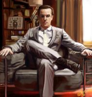BBC Sherlock 2 - Moriarty 2 by DreamyArtistRoxy3