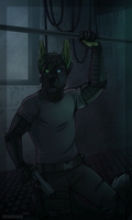 Still in the dark [Commission] by the-MadDog