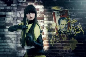 Who watches the Watchmen? - Silk Spectre II by IrethMinllatur
