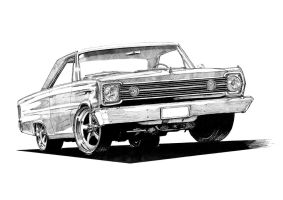 '66 Plymouth Satellite Hemi by AERO-HDT