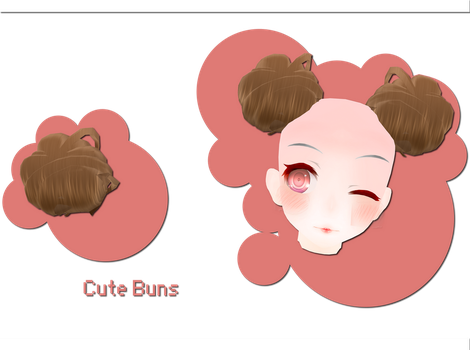 Cute Buns Download by xkyarii