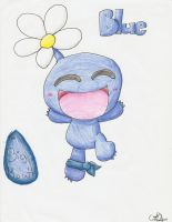 Blue Pikmin by Chenanigans