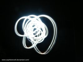 Light Painting - Silver Swirl by sophierevell