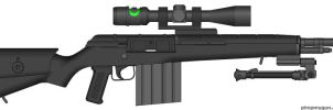 Ganymede .50cal Sniper Rifle by tylero79
