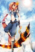 Fire in ice by IndI-Art