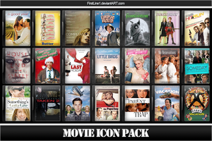 Movie Icon Pack 63 by FirstLine1