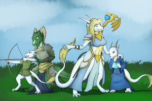 Day with Family (commission) by Tomek1000