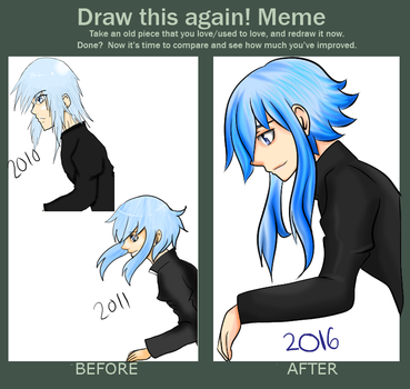 Draw this again 2010-2016 by CarnageComix