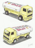 Camioncito Shell / Shell Truck by Feremil