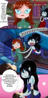 Adventure Time Short Comic - Marceline and Simon by Malabee