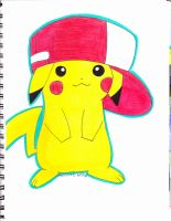 gangster pikachu by Yami-The-Orca