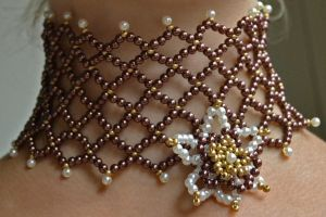 Baroque choker by oasiaris