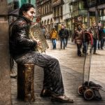 the accordionist by Ditze