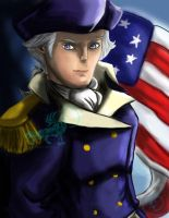 George Washington- Liberty's Kids by OtakuWolfCub