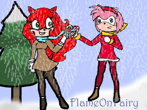 Akai/Jane X Amy Contest Entry by FlameOnFairy