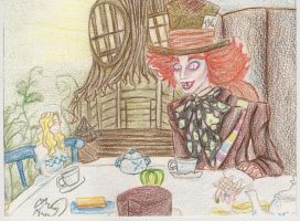 Alice in Wonderland - Hatter by lalenca