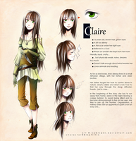 commission-Claire by namirenn