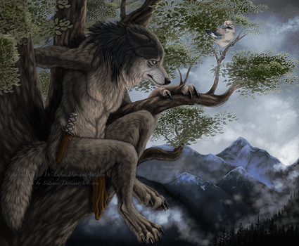 Lonely Perch by Sidonie