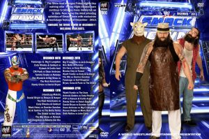 WWE SmackDown December 2013 DVD Cover by Chirantha
