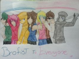 Brofist to everyone! by judy2468