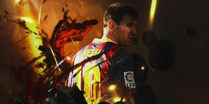 Messi by Blizzardss