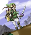 Female Link on a New Quest by tran4of3
