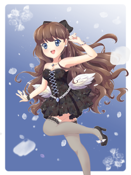 [Let your wings take your heart above the clouds] by Verisse
