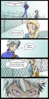 Jelsa AU by deviart4ever