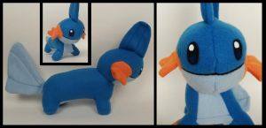 Mudkip Plush by Mermade4u