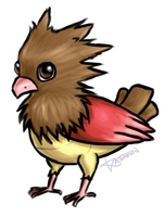 Spearow by KAttAKIN