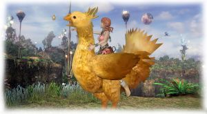 FFxiii - Vanille and Chocobos by simochanny