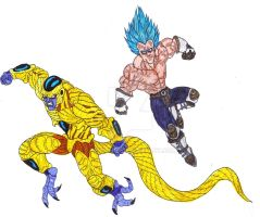 Dragon Ball Z Ressurection Of Freeza by Bender18