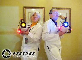 Aperture Science Cosplay 2 by StarScribbles
