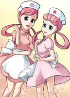 Nurse Joy? Oh Boy! by Sappokei