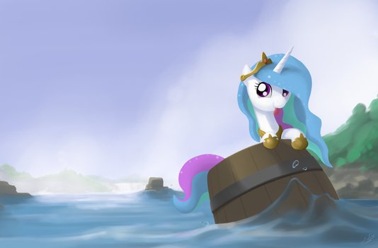 The barrel princess by zlack3r