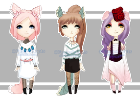 Adoptables01[OPEN 2/3] by Fong-Adopts