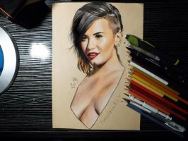 Demi Lovato by Williaaaaaam