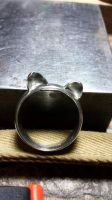 Cat ear ring by Spookiefish