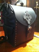 Backpack leather 2 by Damiane